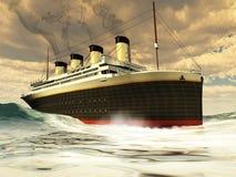 Nave titanica royalty illustrazione gratis