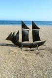 Nave Toy Model della vela Immagine Stock Libera da Diritti
