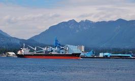 Nave a Vancouver del nord Fotografia Stock