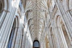 Nave Winchester katedra Zdjęcia Royalty Free