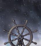 Navegação através da tempestade ilustração stock