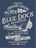 Navegação da descoberta da aventura do mar das caraíbas Imagens de Stock Royalty Free