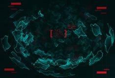 Navegação de espaço ilustração do vetor