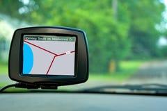Navegação do GPS Imagens de Stock Royalty Free