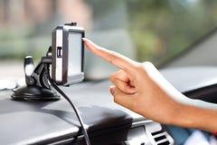 Navegação do GPS fotos de stock royalty free