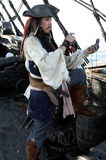 Navegação do pirata fotografia de stock royalty free