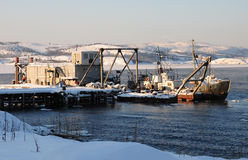 Navegación ártica Foto de archivo libre de regalías