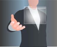 Navegación de la ventana de la resaca del concepto Imagenes de archivo