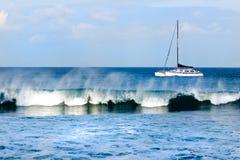 Navegación de Maui imagen de archivo