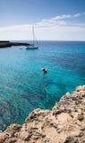 Navegación de Menorca Foto de archivo libre de regalías
