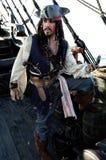 Navegación del pirata imágenes de archivo libres de regalías