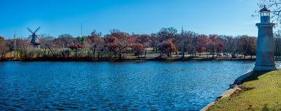 Navegación del río del Fox por la luz y el viento Imagen de archivo