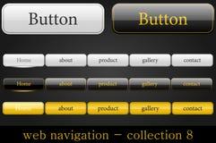 Navegación del Web Fotos de archivo libres de regalías