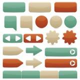 Navegación del Web - vendimia Imagen de archivo libre de regalías
