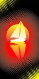 Navegación del yate. Foto de archivo libre de regalías