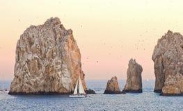 Navegación en Cabo San Lucas fotos de archivo libres de regalías