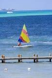 Navegación en el Caribe Fotografía de archivo libre de regalías