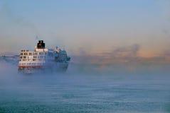 Navegación en el horizonte Fotografía de archivo libre de regalías