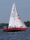 Navegación en el Long Island Sound Fotografía de archivo libre de regalías