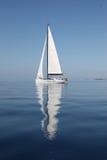 Navegación en el mar adriático Fotografía de archivo libre de regalías