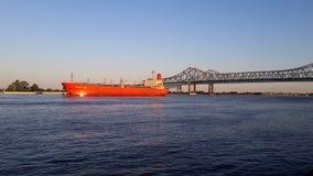 Navegación en el Mississippi Foto de archivo libre de regalías