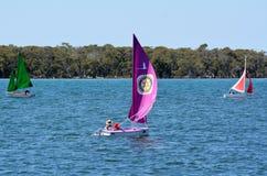 Navegación en Gold Coast Queensland Australia Fotos de archivo libres de regalías