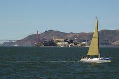 Navegación en la bahía Foto de archivo libre de regalías
