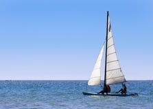Navegación hacia fuera al mar Foto de archivo libre de regalías