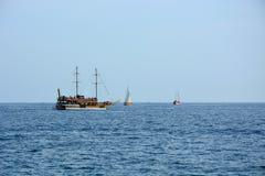 Navegación-naves Foto de archivo