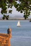 Navegación San Juan imagen de archivo libre de regalías
