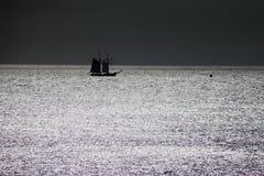 Navegación a solas Imagen de archivo