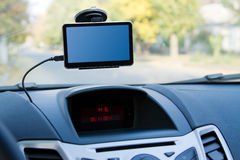 Navegador de los gps del coche Fotos de archivo libres de regalías