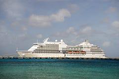 Navegador de Regent Seven Seas Imagem de Stock