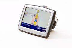 Navegador del GPS Fotos de archivo libres de regalías