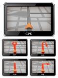 Navegador del GPS Foto de archivo