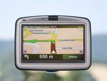 Navegador del GPS Fotos de archivo