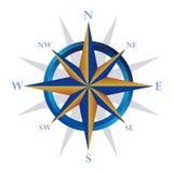Navegador do compasso ilustração royalty free