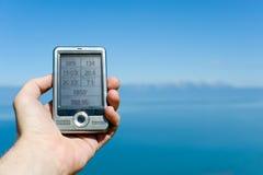 Navegador do GPS Fotografia de Stock