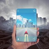 Navegador do GPS Fotografia de Stock Royalty Free