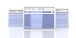 Navegador Windows ilustração do vetor