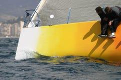 Navegando, #1 que navega Imagen de archivo