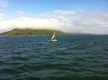 Navegando EN EL sur de Χιλή Στοκ φωτογραφία με δικαίωμα ελεύθερης χρήσης