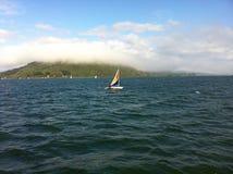 Navegando en el sura de Chile Fotografia Royalty Free