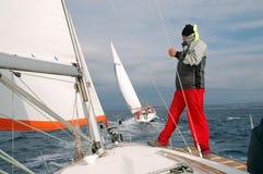 Navegando III Foto de Stock Royalty Free