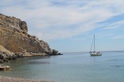 Navegando o mediterean Imagens de Stock Royalty Free