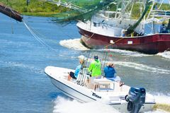Navegantes recreativos Foto de archivo libre de regalías