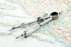 Navegação Imagem de Stock