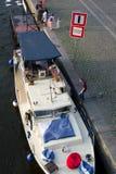 Navegue en puerto Foto de archivo libre de regalías