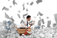 Navegue la burocracia Imágenes de archivo libres de regalías