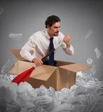 Navegue la burocracia Imagen de archivo libre de regalías